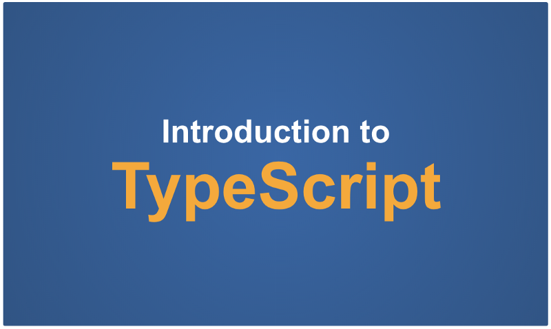 Learn TypeScript in 5 minutes - A tutorial for beginners