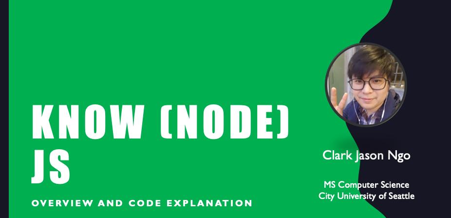 Understanding Hello World in Node js