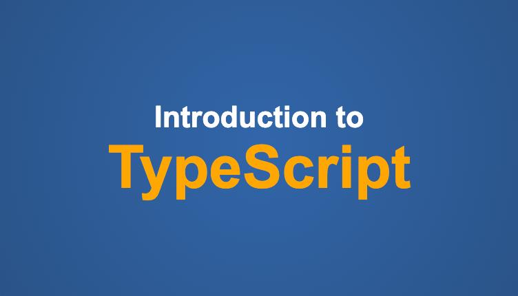 TypeScript course banner