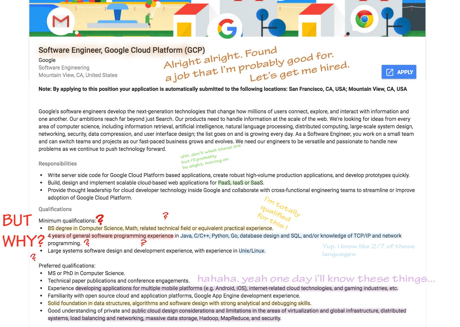 Download Google New Grad Software Engineer 2020 Background