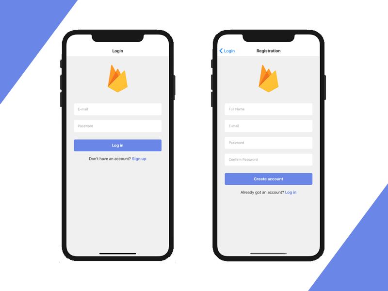 react native firebase auth