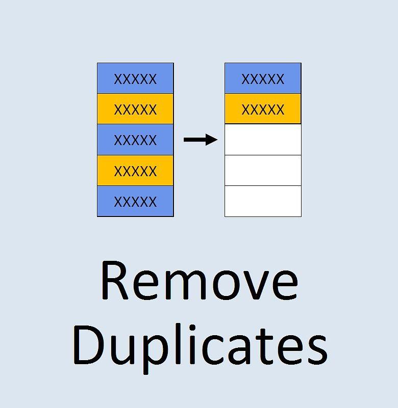 如何在Excel中删除重复项-单击几下即可删除重复行