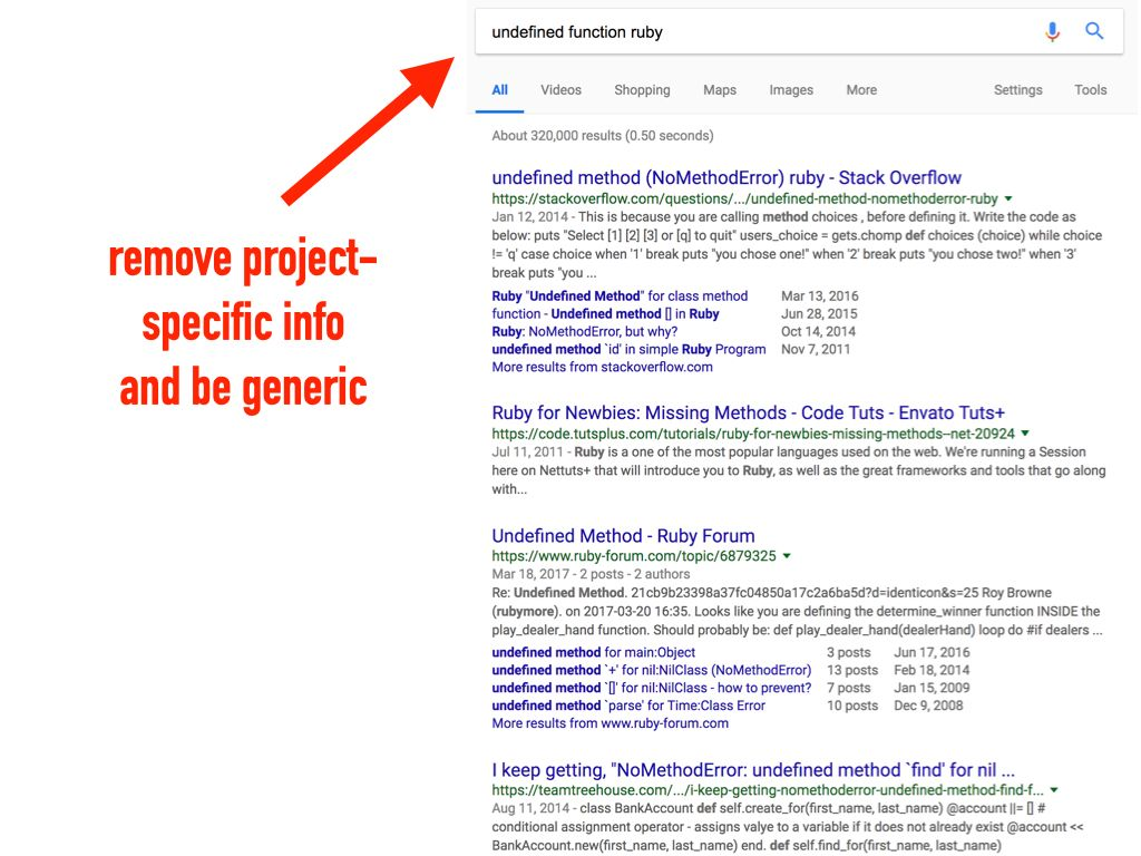 The underlying generic error