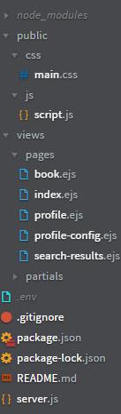 nodejs-file-structure