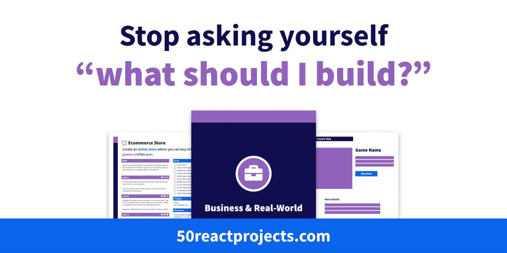 Stop asking yourself what should I build?