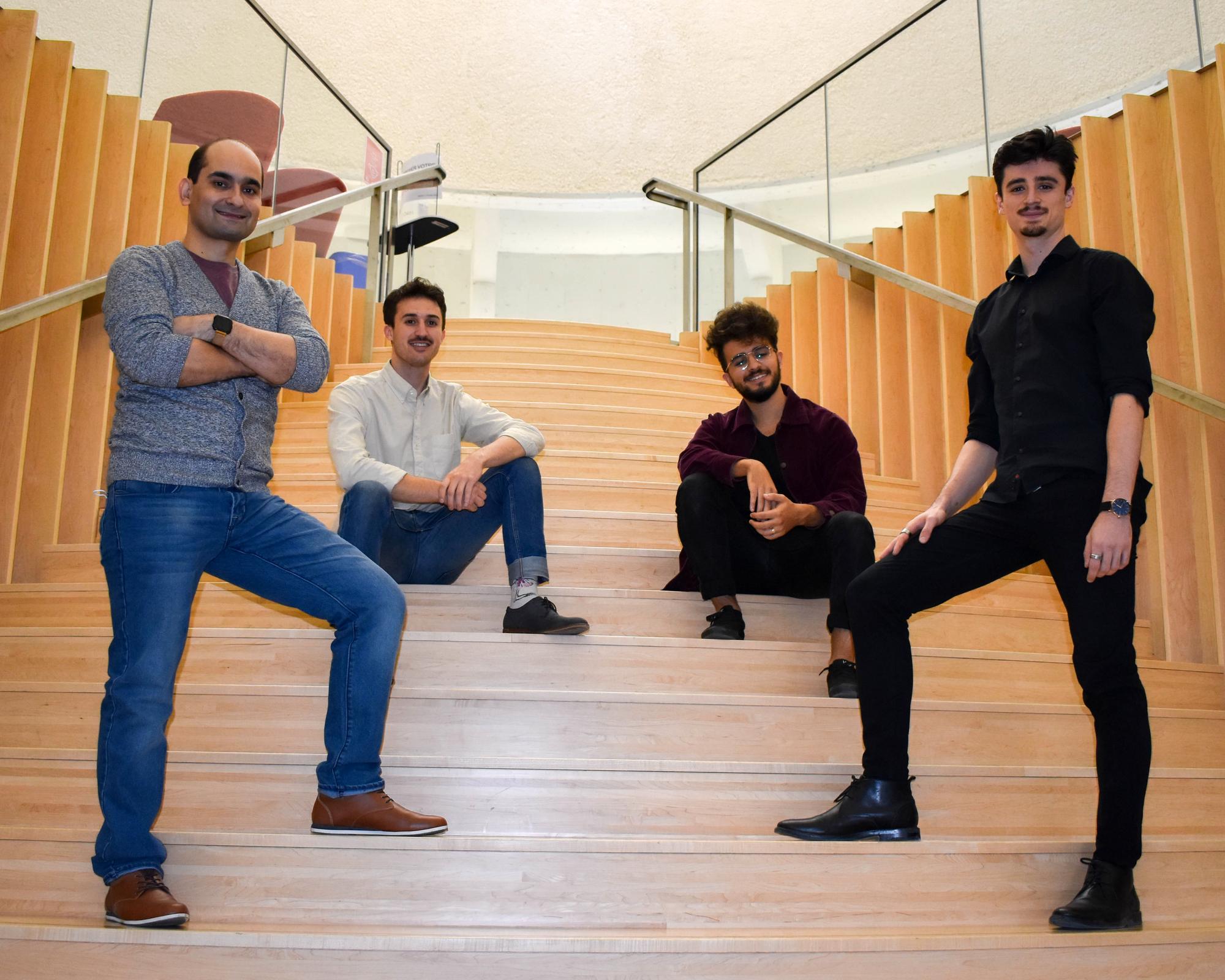 The executive team of the company GRAD4