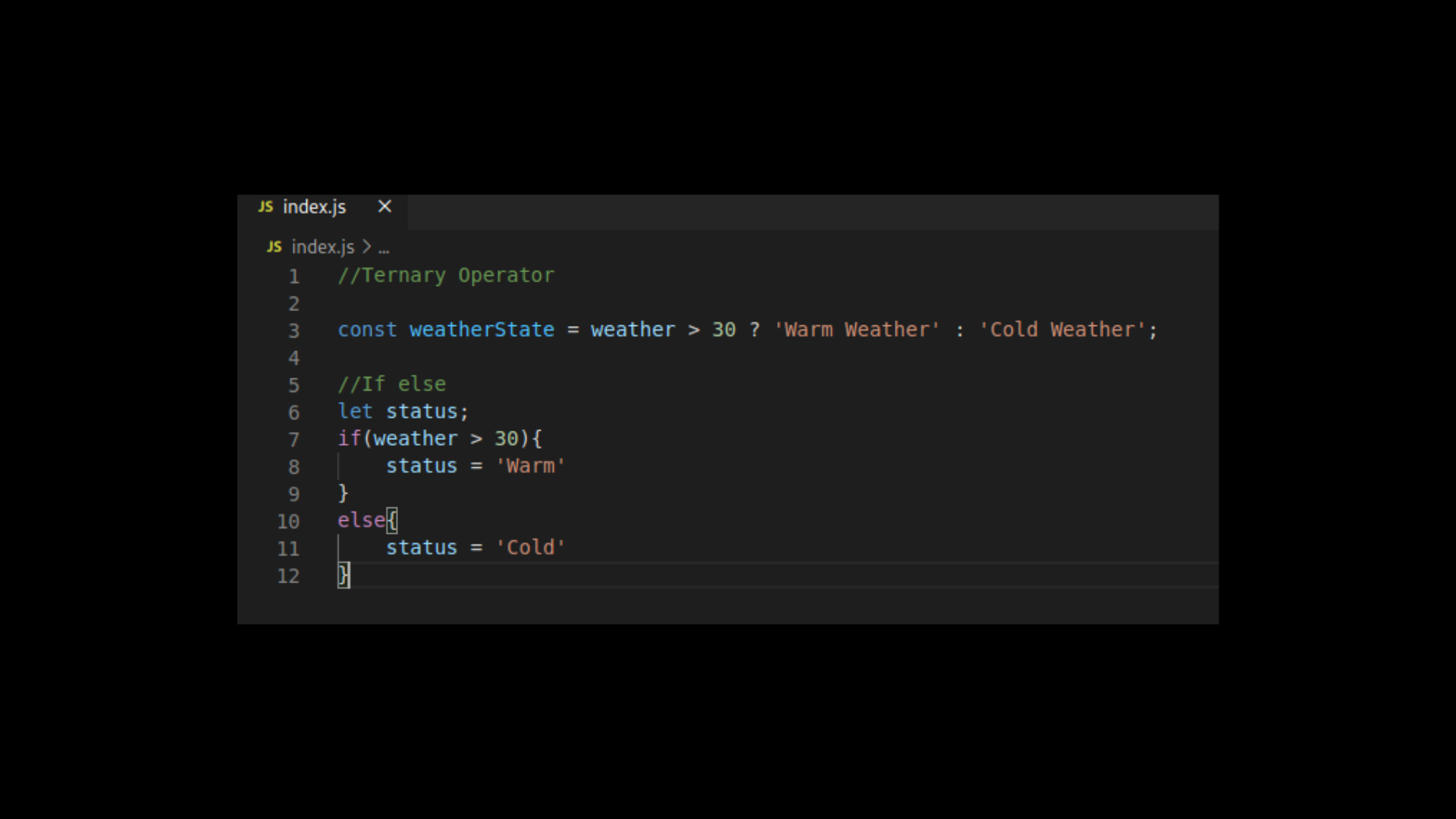 How the Question Mark  Operator Works in JavaScript