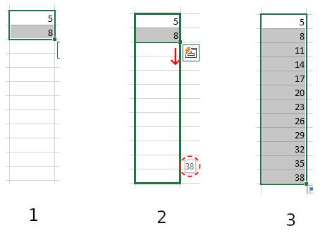在Excel中自动编号–如何自动为单元格编号