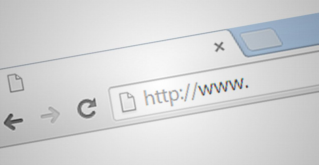 "URL bar showing ""http://www."""