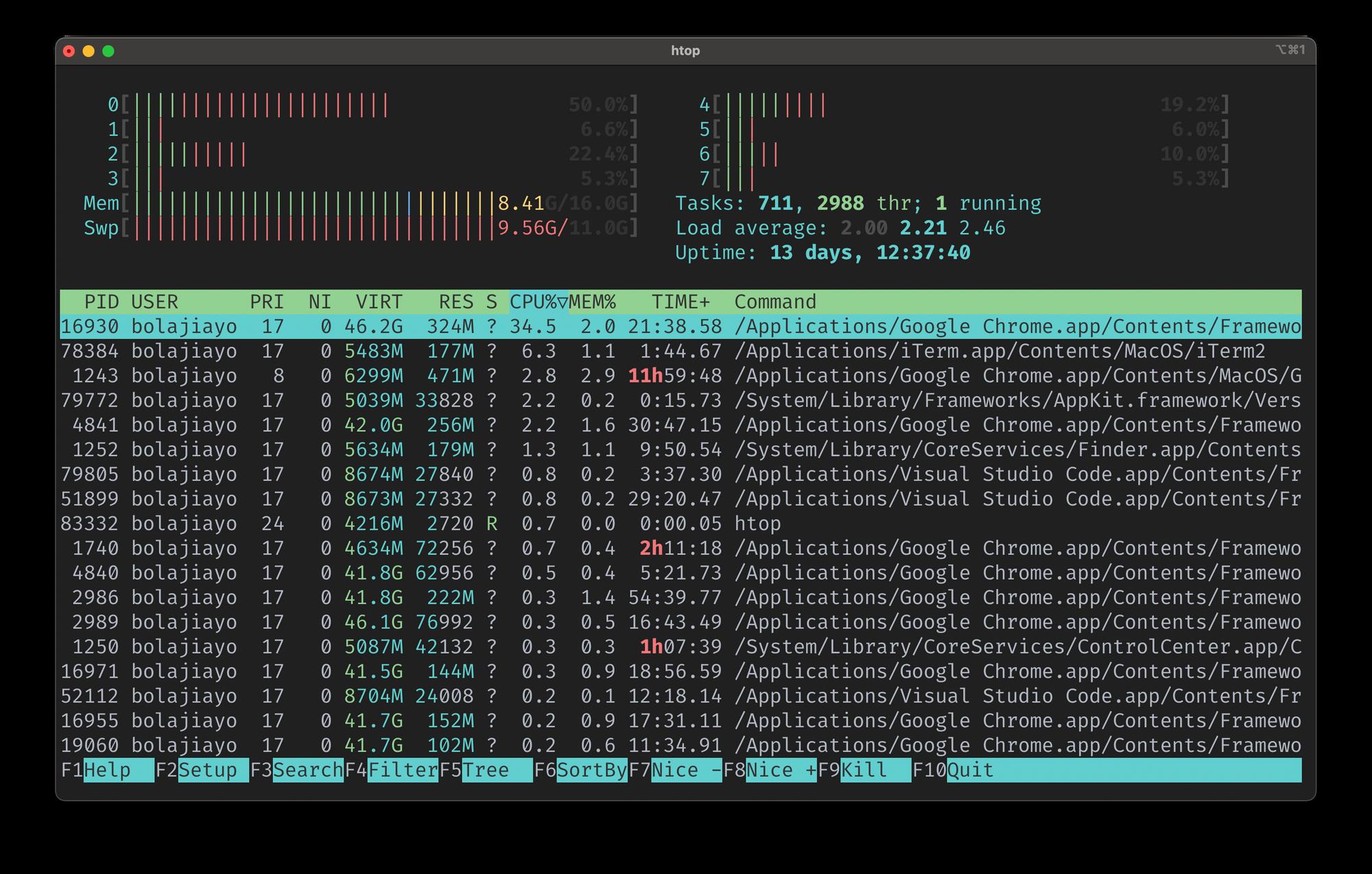 Linux 列出进程——如何检查正在运行的进程