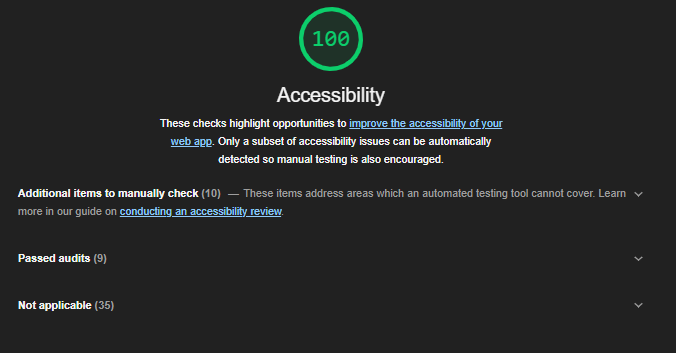 lighthouse-accessibilty-report