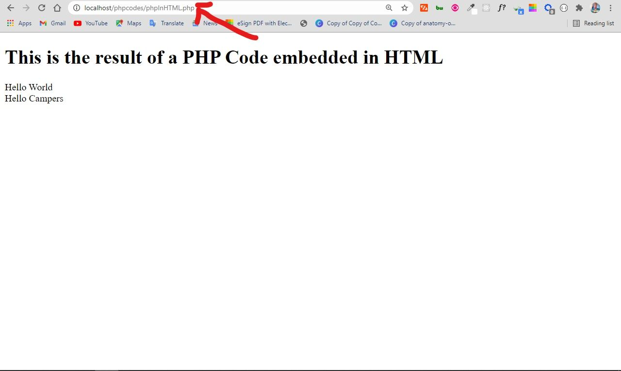 php-in-html