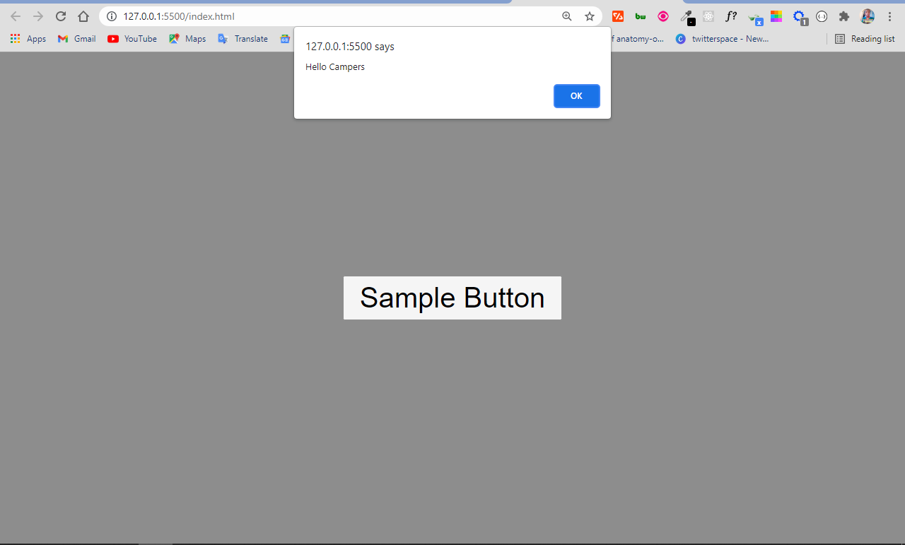HTML Button Type – How to Add Buttons to your Website