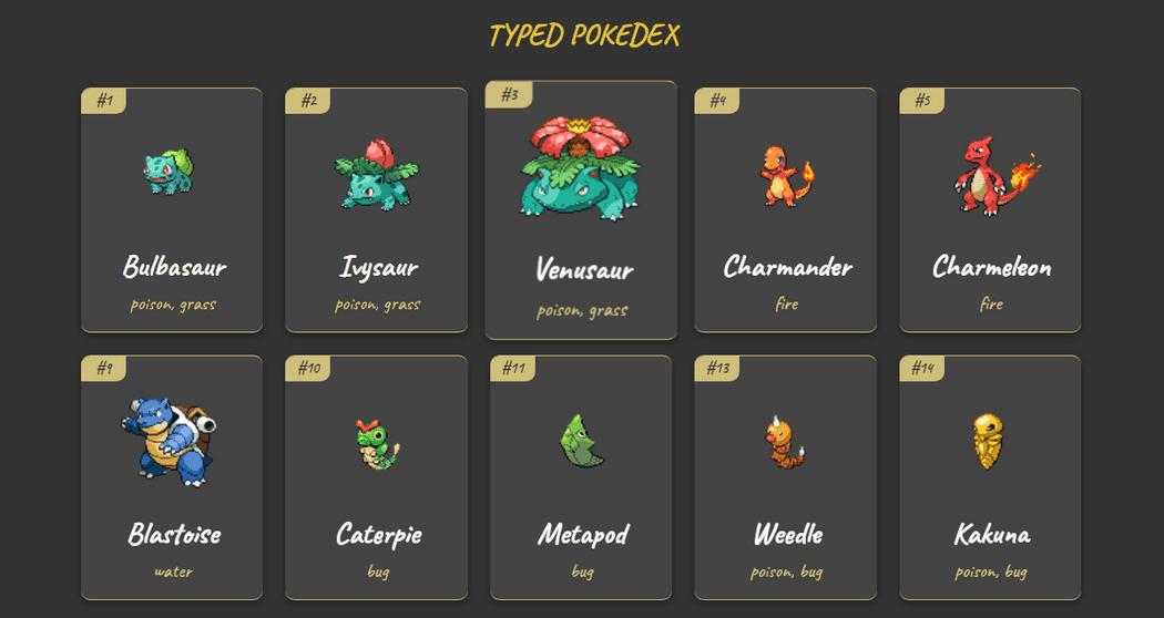 Pokedex app preview image