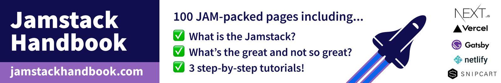 Jamstack Handbook