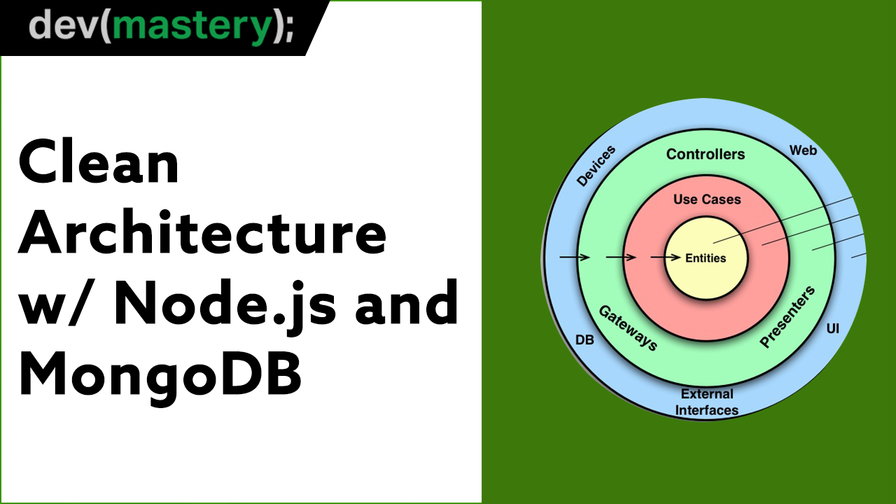 [Video] Clean Architecture in Node JS