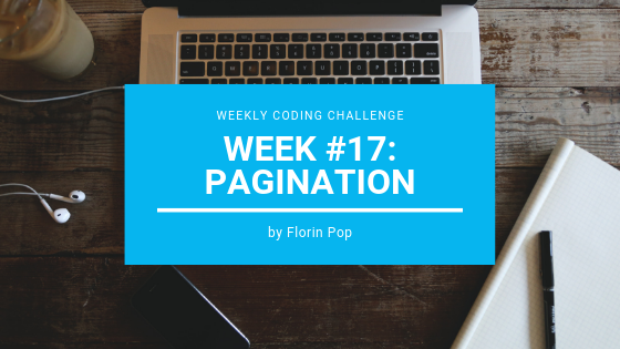 How to create a pagination component