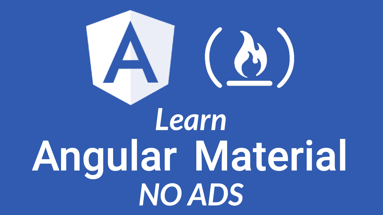 Use Angular Material to add modern UI components to your Angular projects
