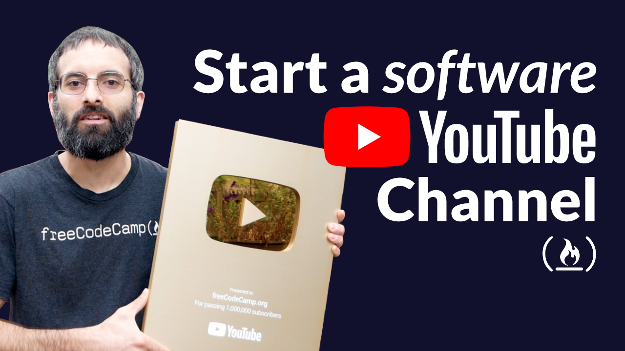 How to Create a Programming YouTube Channel - Lessons From 5 Years and 1 Million Subscribers