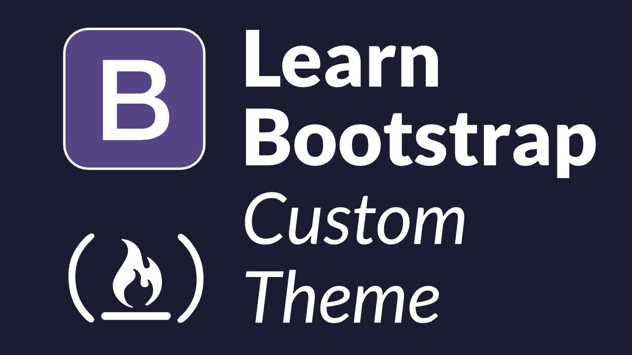 Learn the Bootstrap CSS framework by creating a custom admin theme