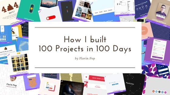 How I built 100 Projects in 100 Days