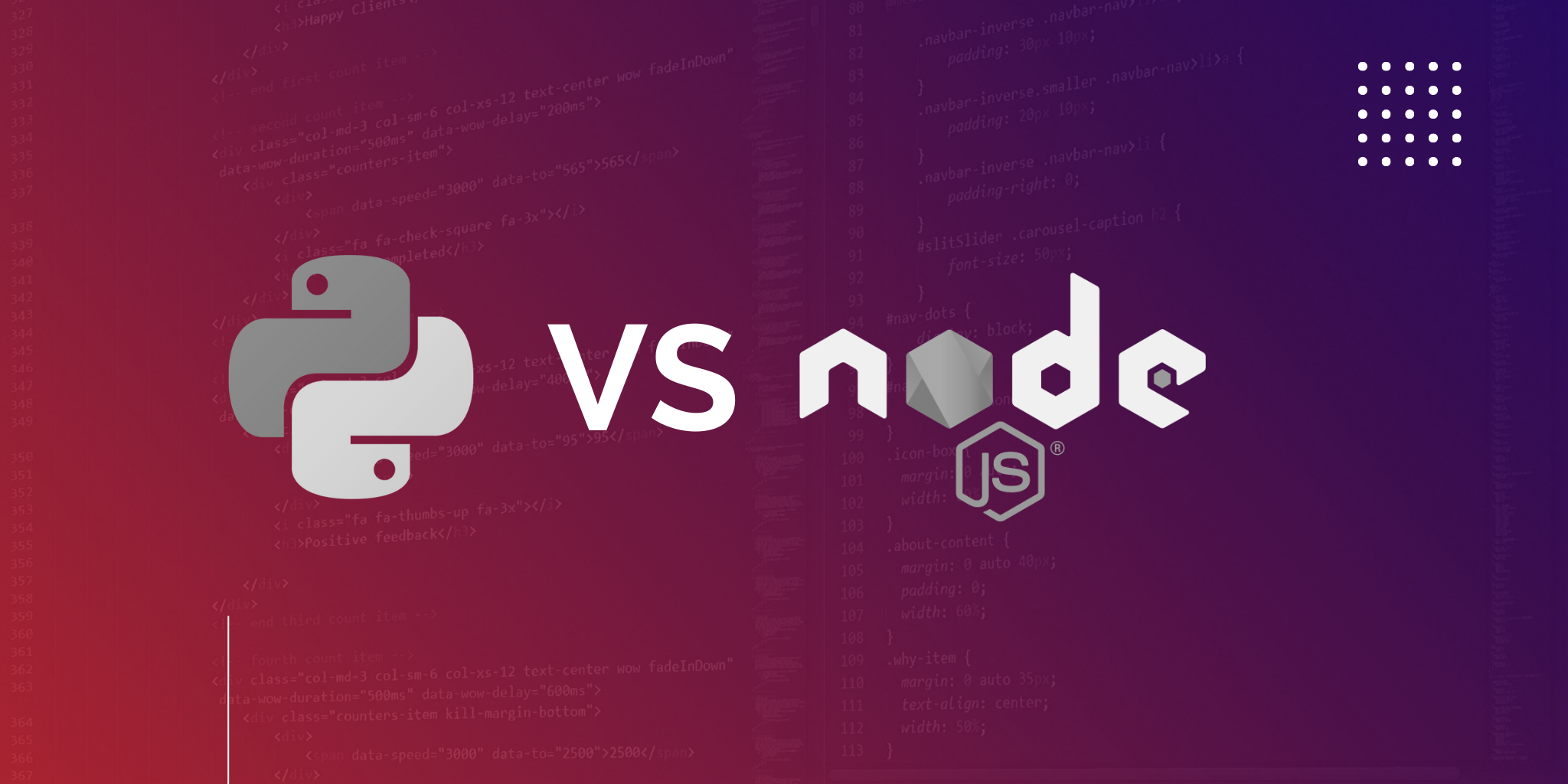 NodeJS vs Python: How to Choose the Best Technology to Develop Your Web App's Back End