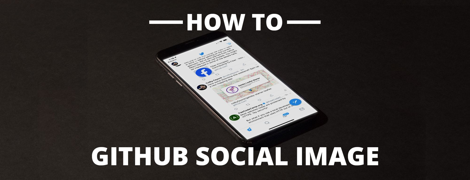 How to Add a Social Media Image to Your Github Project Repository