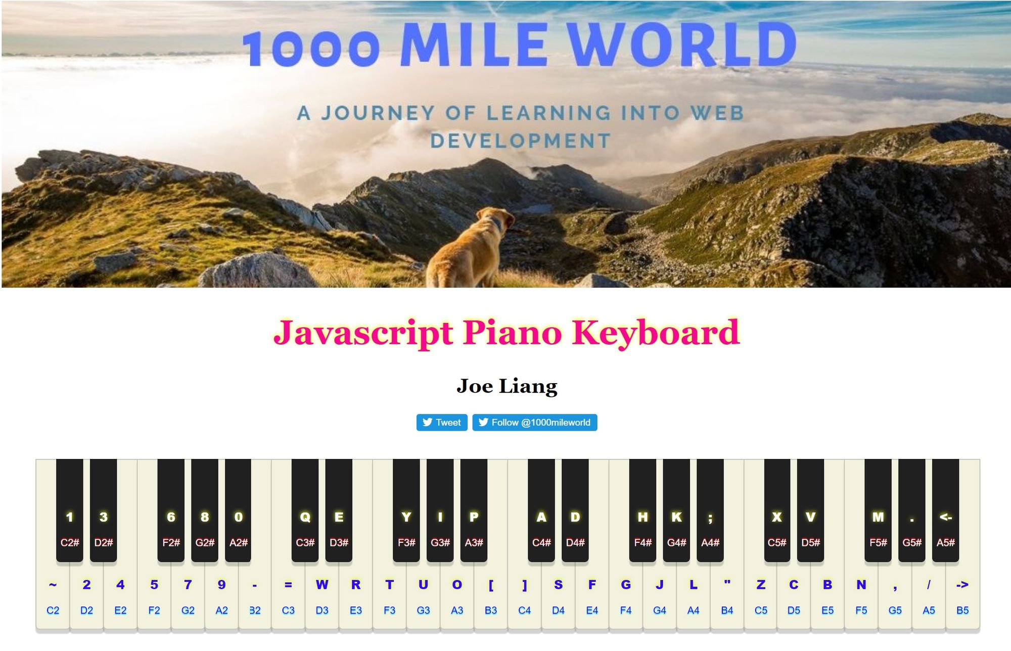 How to Build a Piano Keyboard Using Vanilla JavaScript