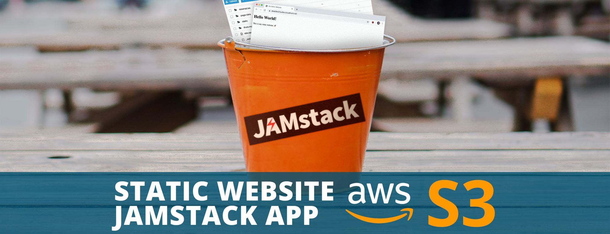 How to host and deploy a static website or JAMstack app to AWS S3 and CloudFront