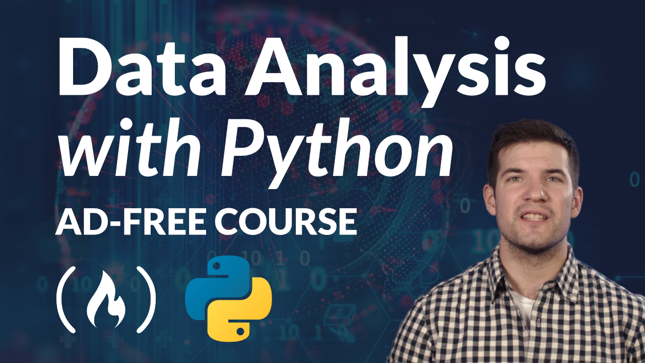 Learn Data Analysis with Python – A Free 4-Hour Course