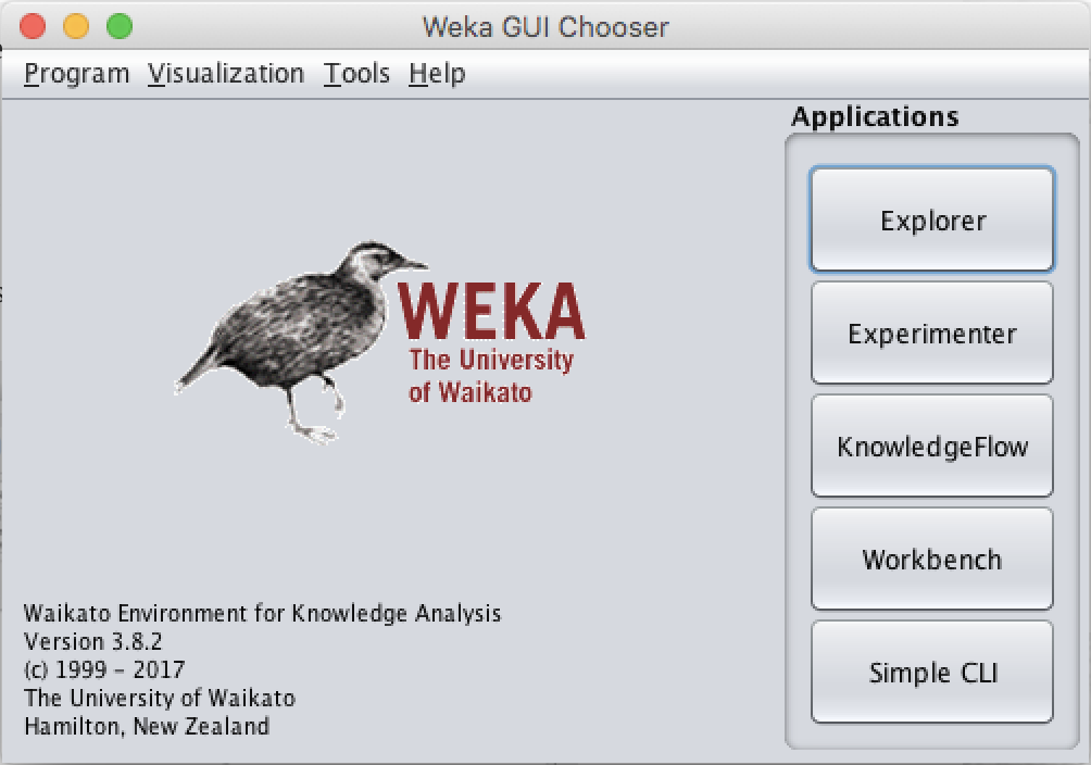 Weka Tutorial -- GUI-based Machine Learning with Java