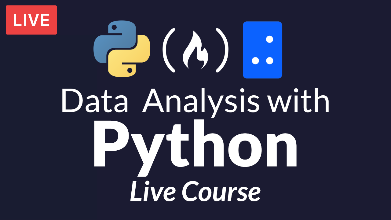 Free Live Course: Data Analysis with Python