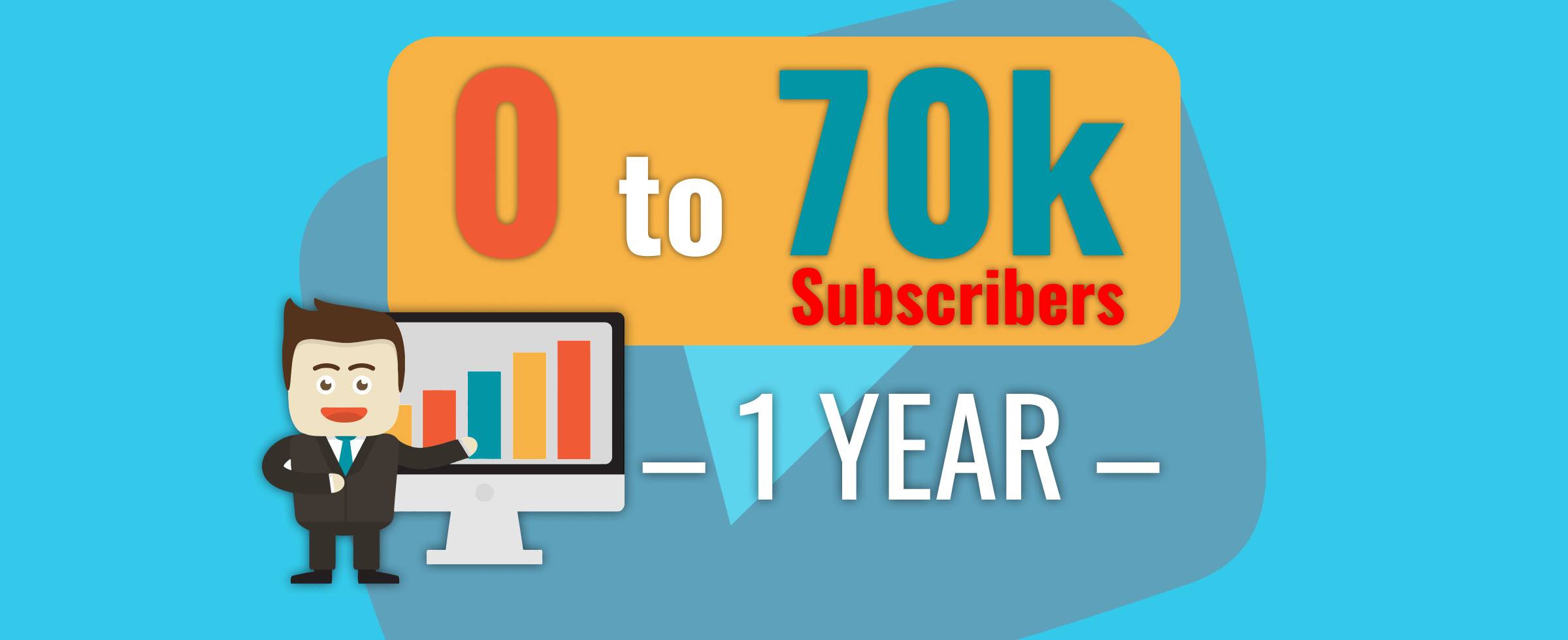 How I Went From 0 to 70k Subscribers on YouTube in 1 Year – And How Much Money I Made