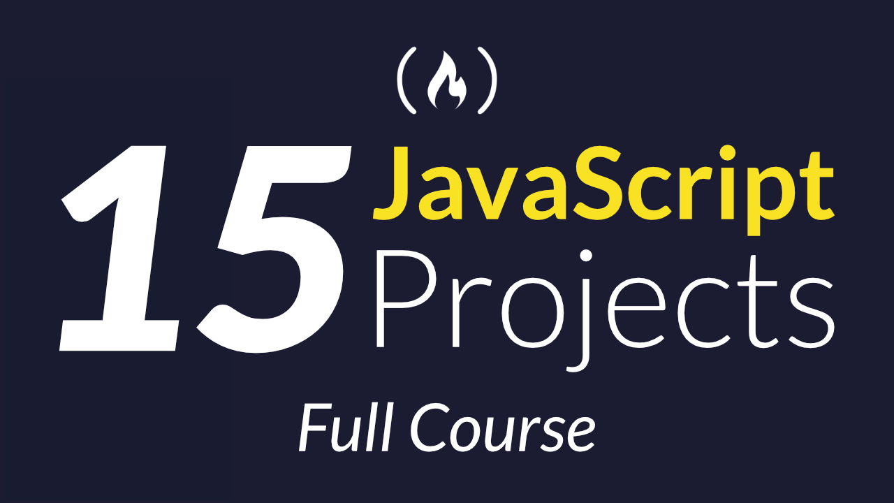 Hone your JavaScript skills by building these 15 projects