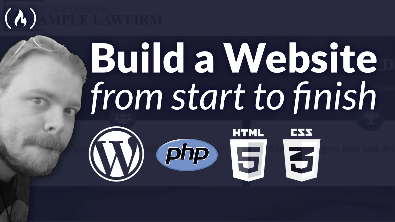 How to Build a Website from Start to Finish: Free 5-hour WordPress and PHP Course