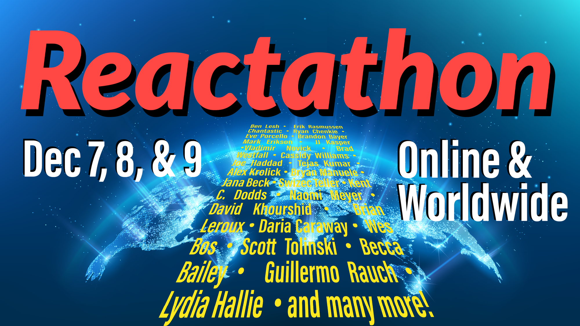 Watch The 2020 Reactathon San Francisco Developer Conference for Free