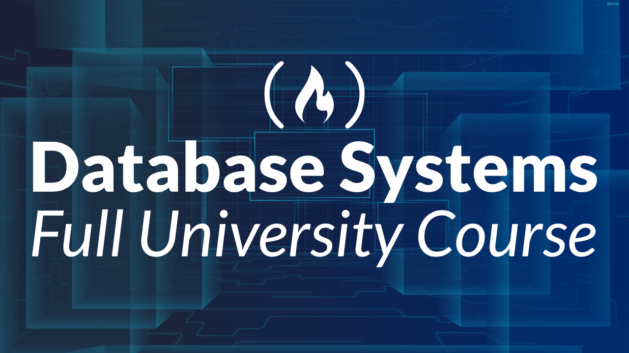 Watch a Cornell University Database Course for Free