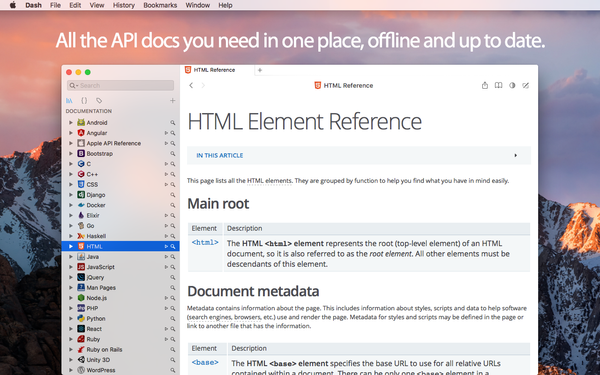 How to Quickly Access the API Documentation of Your Favorite Languages