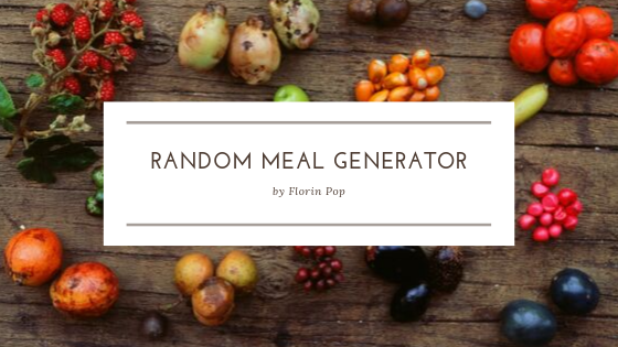 How to Create a Random Meal Generator