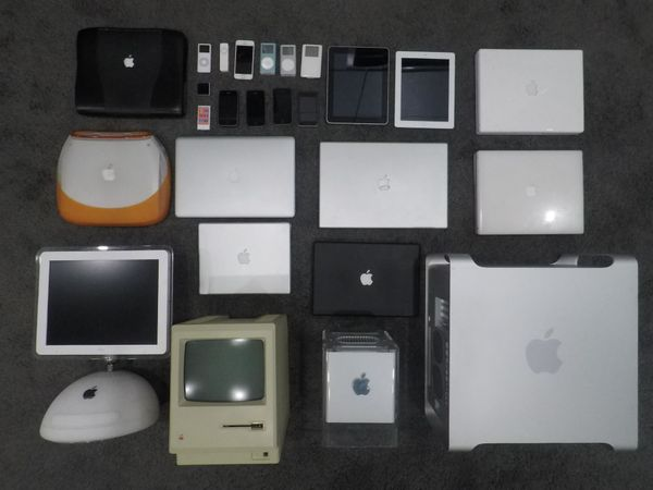 How I created a website for my Apple collection