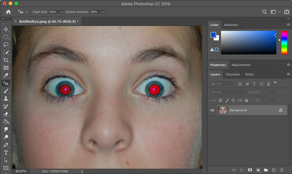 How to Fix Red Eye - Use Photoshop CC to Remove Red Eye from Pictures