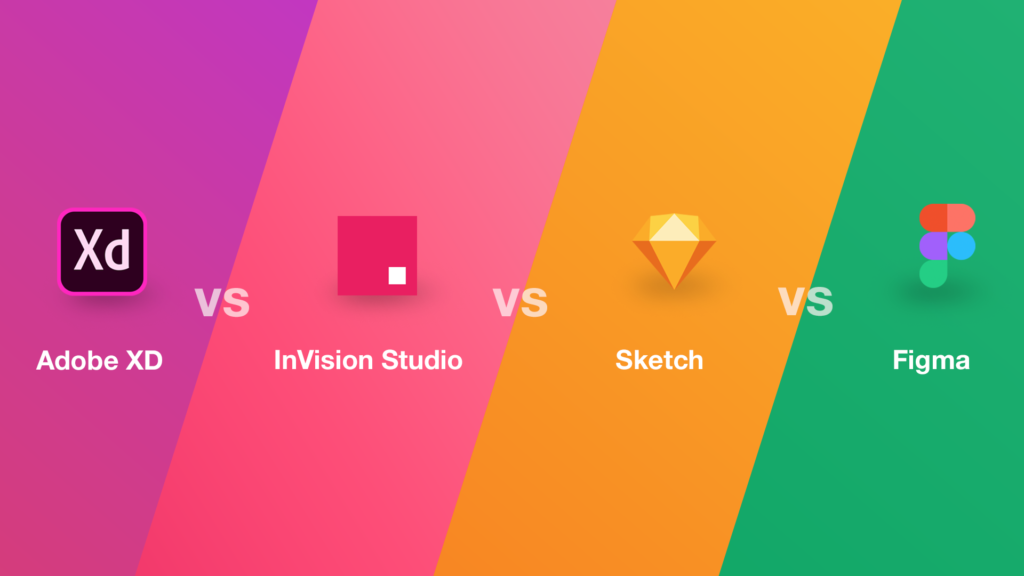 Adobe XD vs Sketch vs Figma vs InVision - How to Pick the Best Design Software in 2020