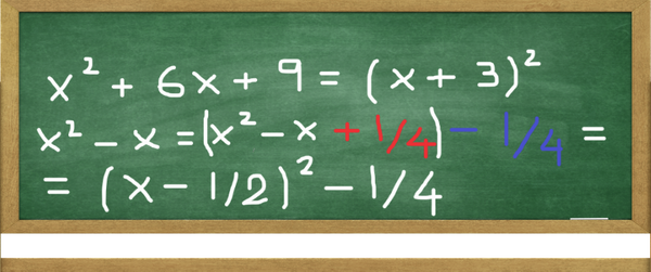 Completing the Square Formula: How to Complete The Square with a Quadratic Equation