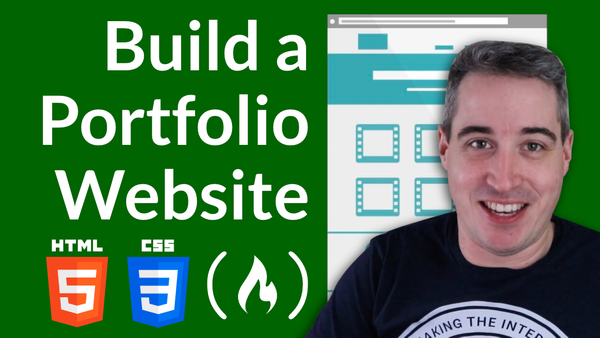 How to build and deploy a portfolio website - Video Course