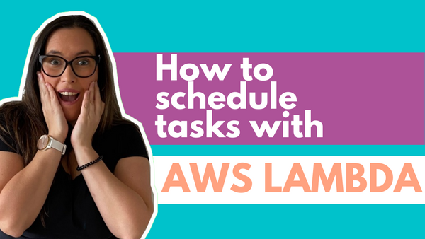 Cron Job AWS Lambda Functions Tutorial – How to Schedule Tasks