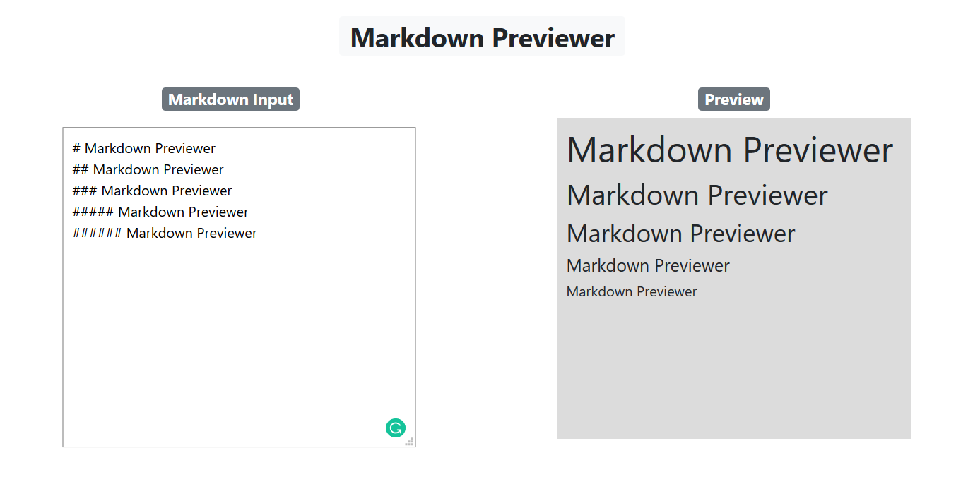 How to Build a Markdown Previewer with React.js