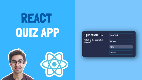 How to Build a Quiz App Using React –with Tips and Starter Code