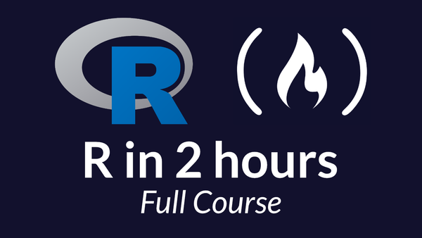 Learn R programming language basics in just 2 hours with this free course on statistical programming