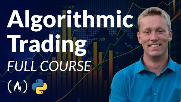 Algorithmic Trading with Python – Free 4-hour Course With Example Code Repos