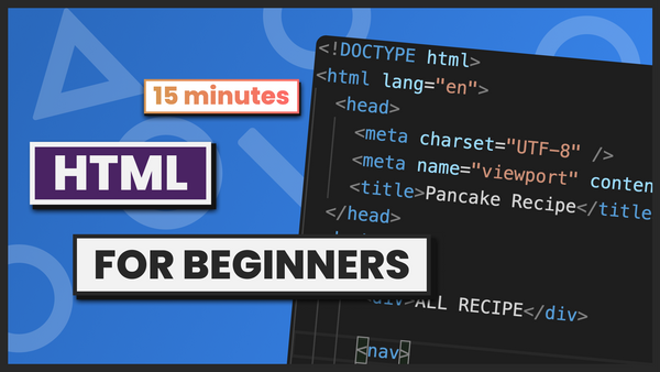 Learn HTML Basics for Beginners in Just 15 Minutes
